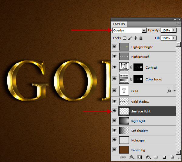 Learn a realistic gold text effect in Photoshop 39