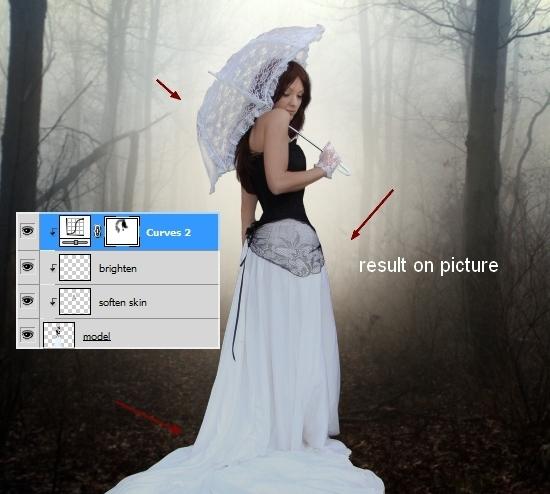 Create an Emotional Autumn Scene Photo Manipulation 31