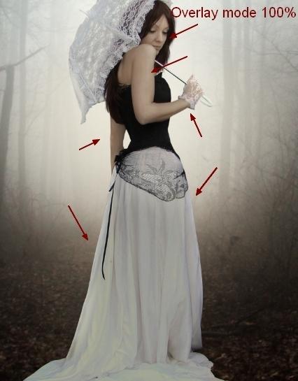 Create an Emotional Autumn Scene Photo Manipulation 42