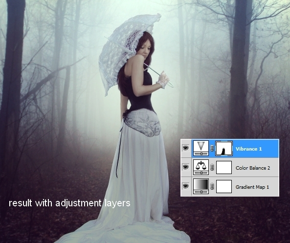 Create an Emotional Autumn Scene Photo Manipulation 50