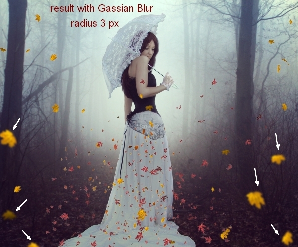 Create an Emotional Autumn Scene Photo Manipulation 54
