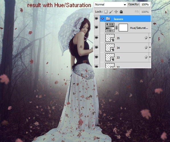 Create an Emotional Autumn Scene Photo Manipulation 59