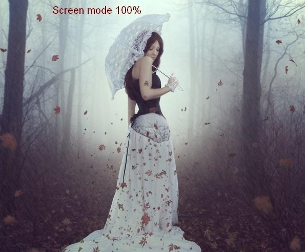 Create an Emotional Autumn Scene Photo Manipulation 68