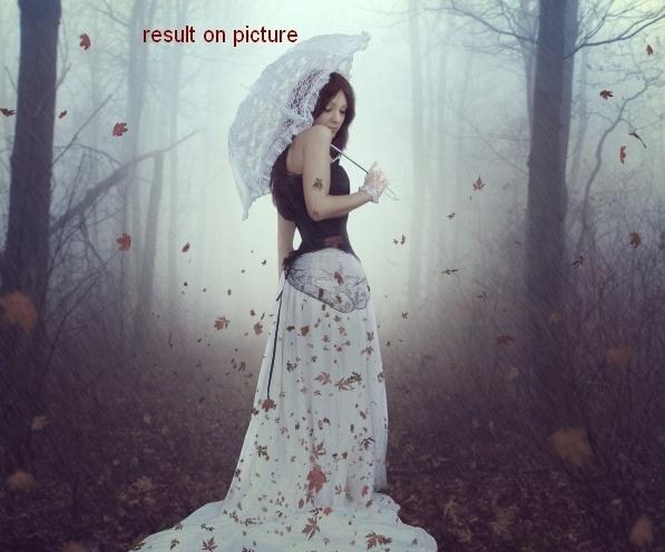 Create an Emotional Autumn Scene Photo Manipulation 70