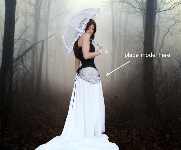 Create an Emotional Autumn Scene Photo Manipulation 22