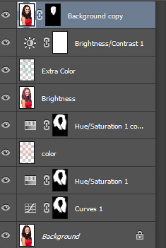 How to Change Hair Color in Photoshop 14