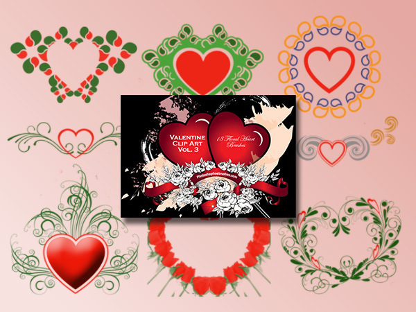 Valentine Clip Art Vol. 3