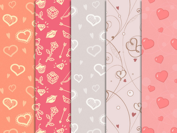 St Valentine's Day Patterns
