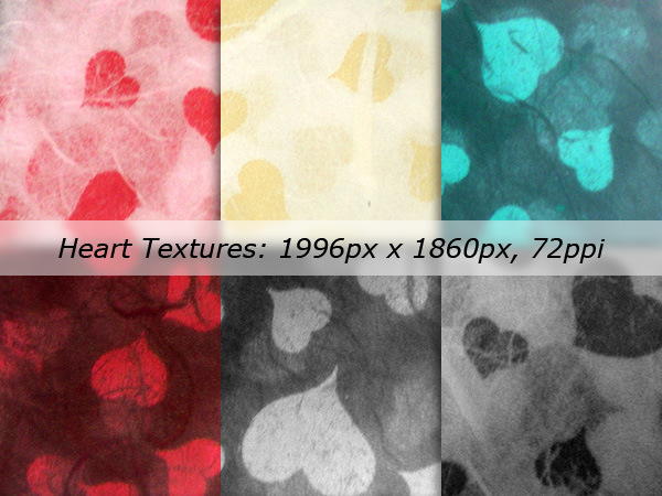 Heart Textures Pack
