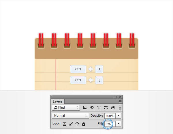 Create a Simple Notebook Icon in Adobe Photoshop 14