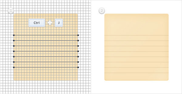 Create a Simple Notebook Icon in Adobe Photoshop 6