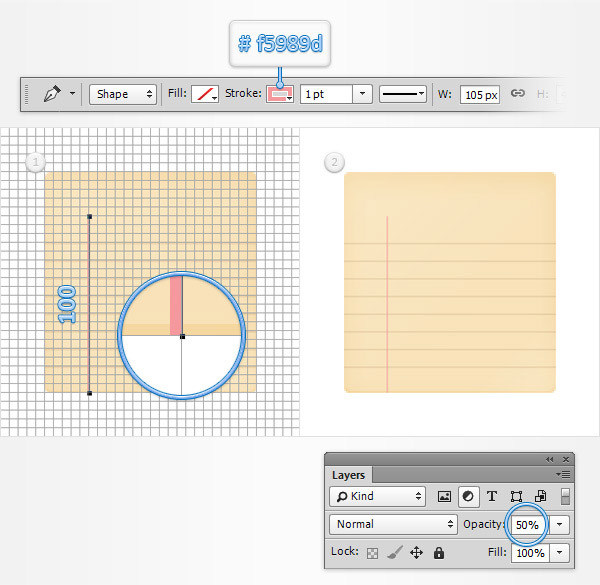 Create a Simple Notebook Icon in Adobe Photoshop 7