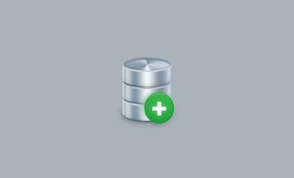Create a Simple Database Icon in Adobe Photoshop