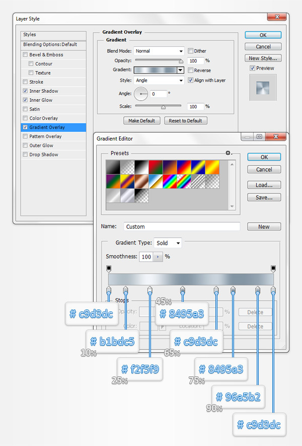 Create a Database Icon in Adobe Photoshop 6