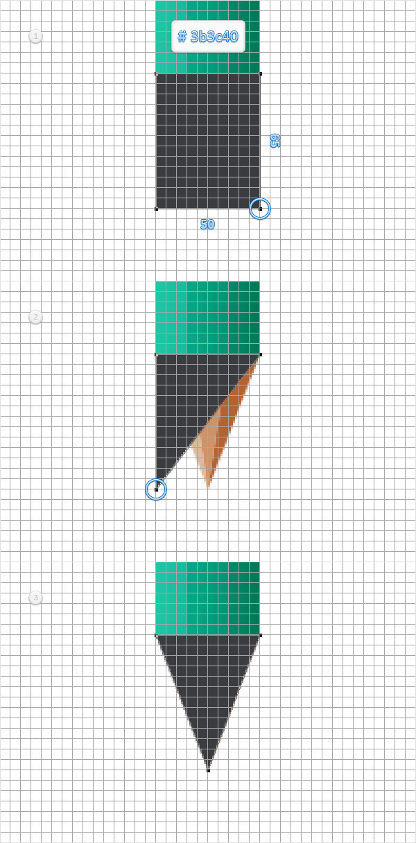 Create a Simple Pencil Icon in Adobe Photoshop 11