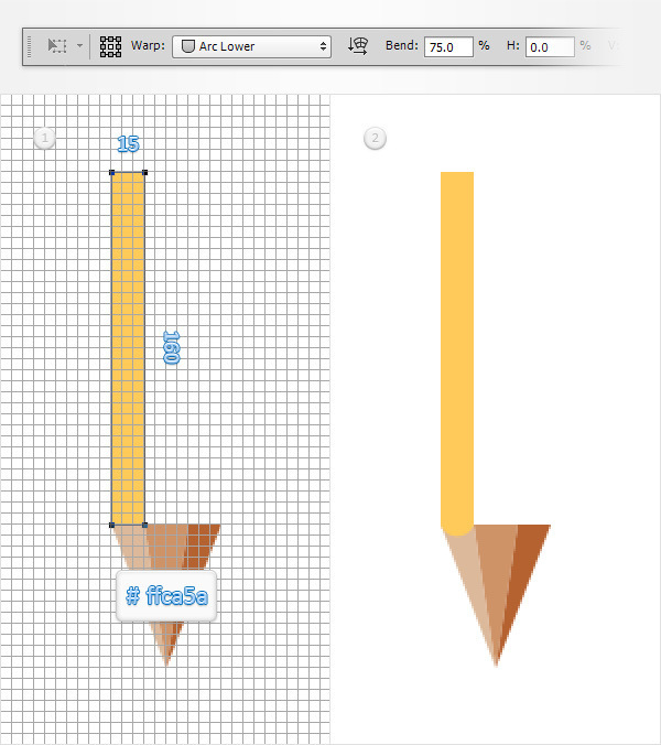 Create a Simple Pencil Icon in Adobe Photoshop 5