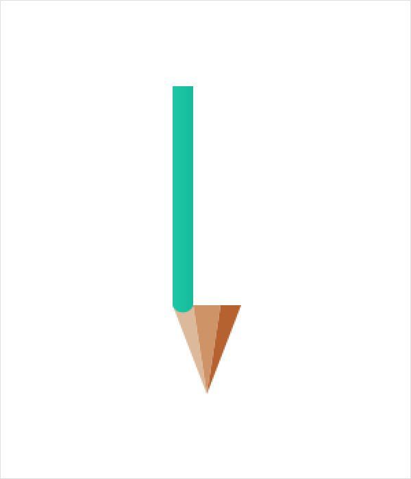 Create a Simple Pencil Icon in Adobe Photoshop 6