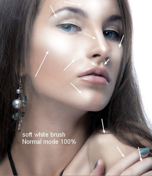 How to Retouch a Model with Photoshop 25