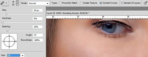How to Retouch a Model with Photoshop 4