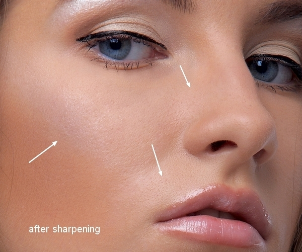 How to Retouch a Model with Photoshop 7