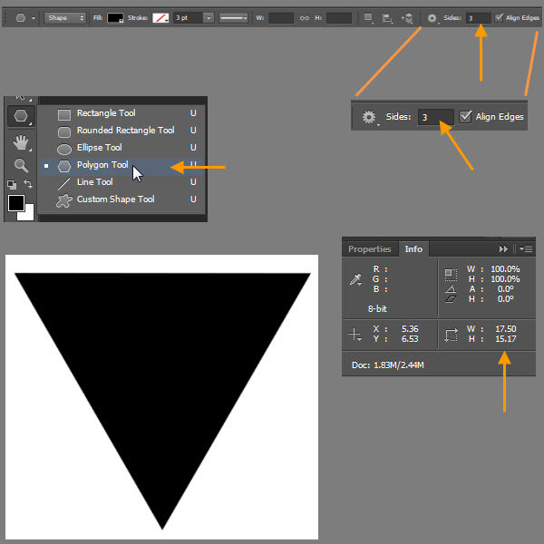 Create a Shiny Shield in Photoshop 2