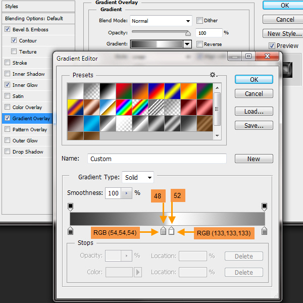 Create a Shiny Shield in Photoshop 22