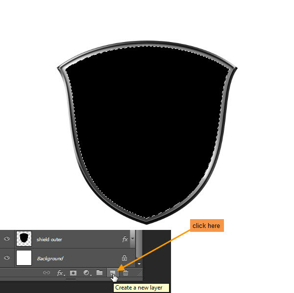 Create a Shiny Shield in Photoshop 25