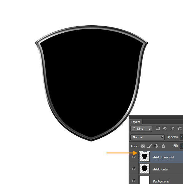 Create a Shiny Shield in Photoshop 26