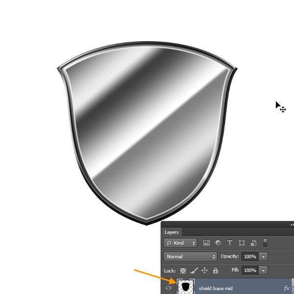 Create a Shiny Shield in Photoshop 32