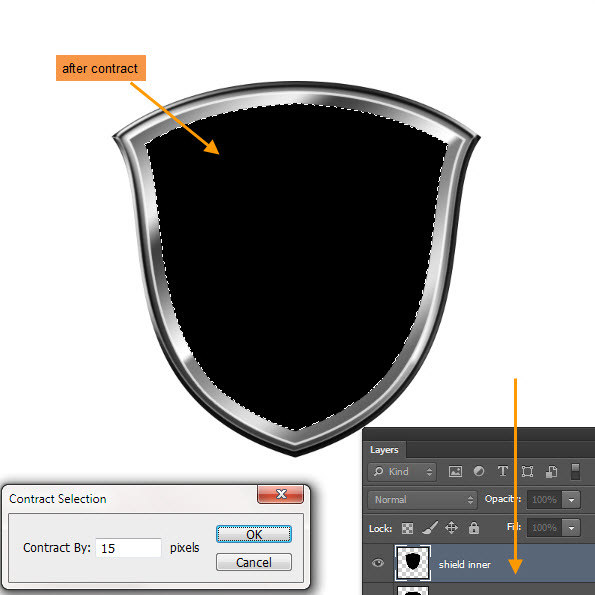 Create a Shiny Shield in Photoshop 33