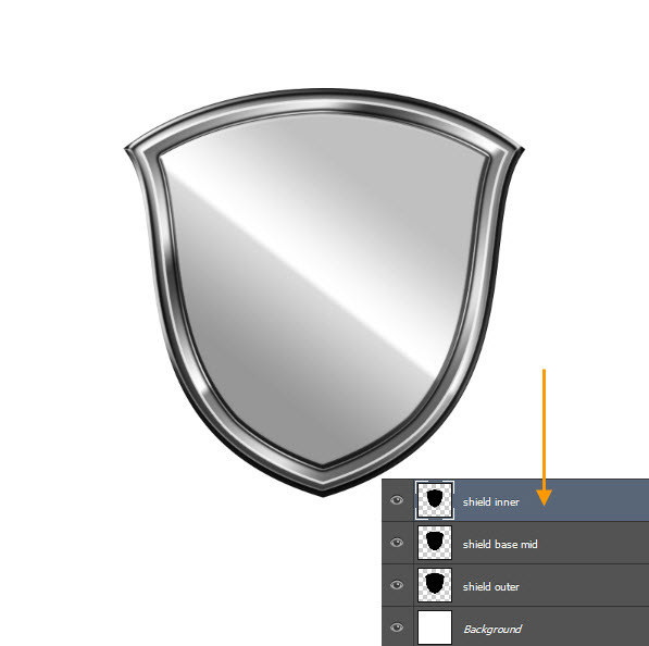 Create a Shiny Shield in Photoshop