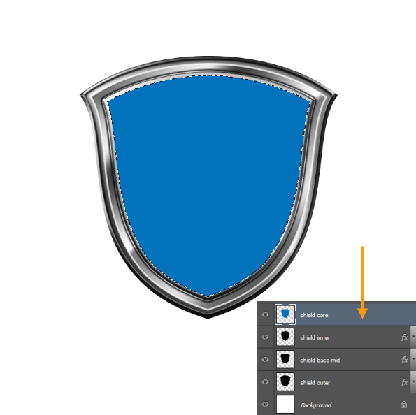 Create a Shiny Shield in Photoshop 40