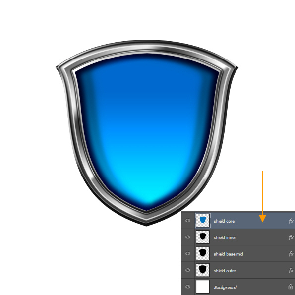 Create a Shiny Shield in Photoshop 45