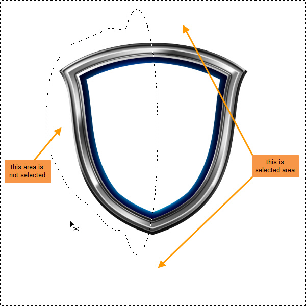 Create a Shiny Shield in Photoshop 49