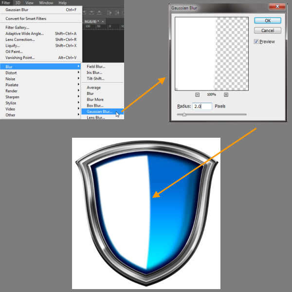 Create a Shiny Shield in Photoshop 51