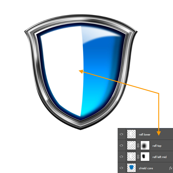 Create a Shiny Shield in Photoshop 58