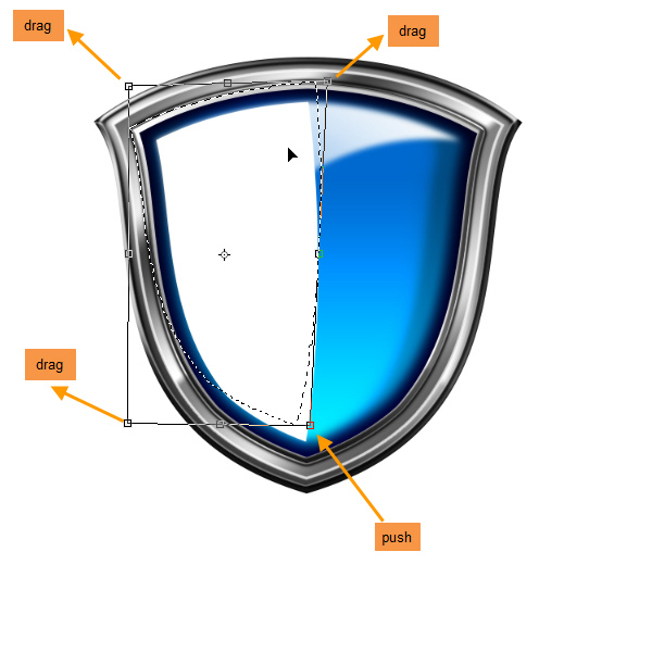 Create a Shiny Shield in Photoshop 60