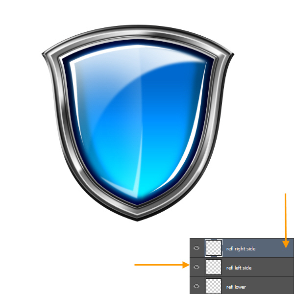Create a Shiny Shield in Photoshop 63