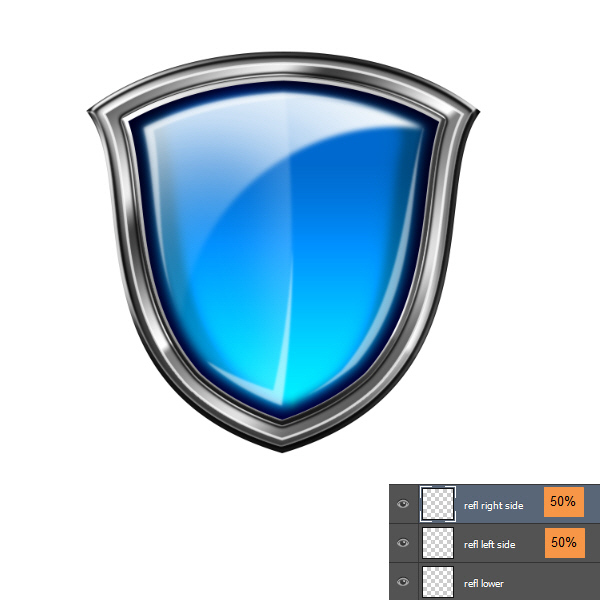 Create a Shiny Shield in Photoshop 64
