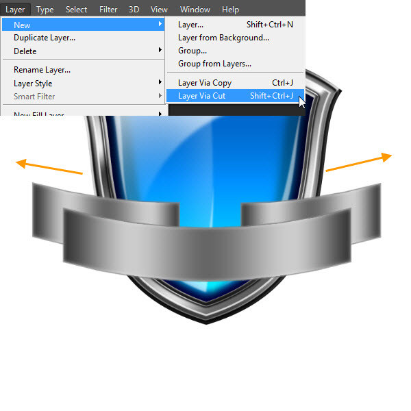 Create a Shiny Shield in Photoshop 76