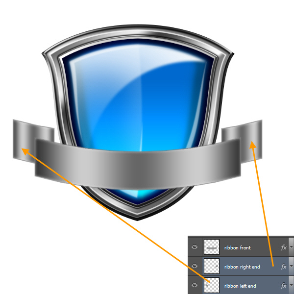 Create a Shiny Shield in Photoshop 77