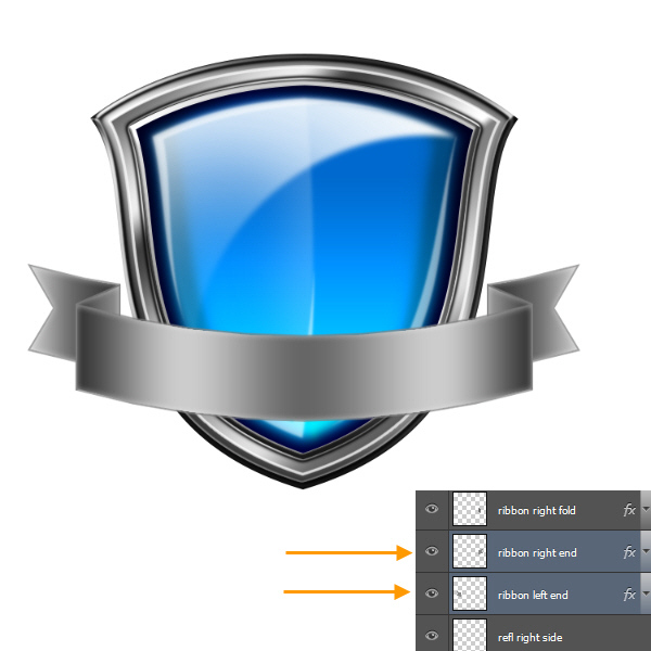 Create a Shiny Shield in Photoshop 88