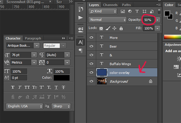 5 Ways to Improve Contrast When Placing Text Over Images 3