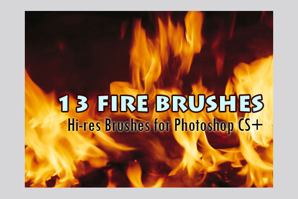 Fire, Flames and Smoke Brushes for Photoshop