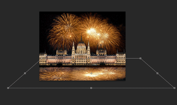 How to Add Fireworks to a Photo 10