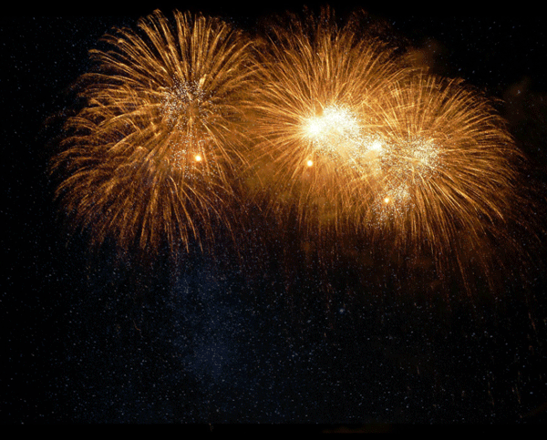 How to Add Fireworks to a Photo 5