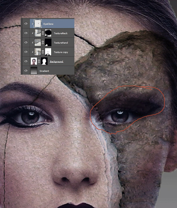 How to Add Texture to Skin 10