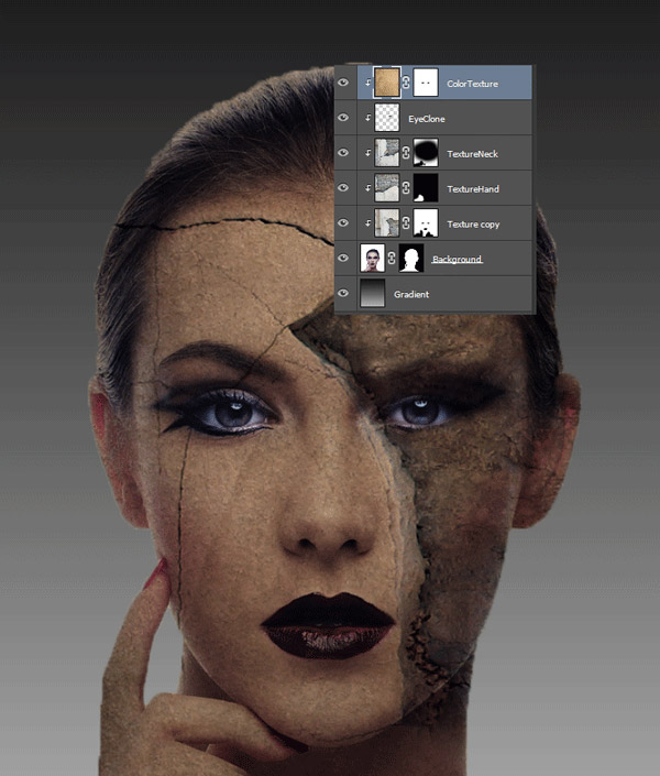 How to Add Texture to Skin 12