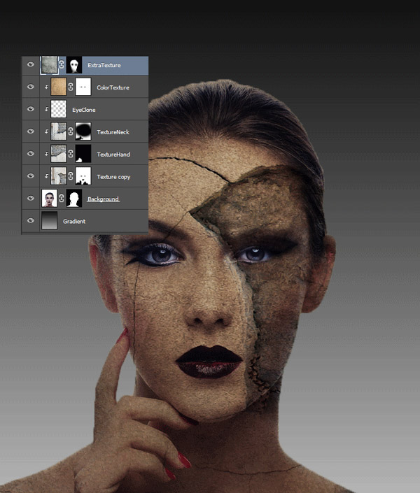 How to Add Texture to Skin 14