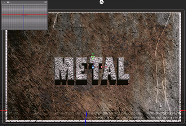 How to Create a Simple 3D Text Metal Effect in Photoshop CS6 step 22